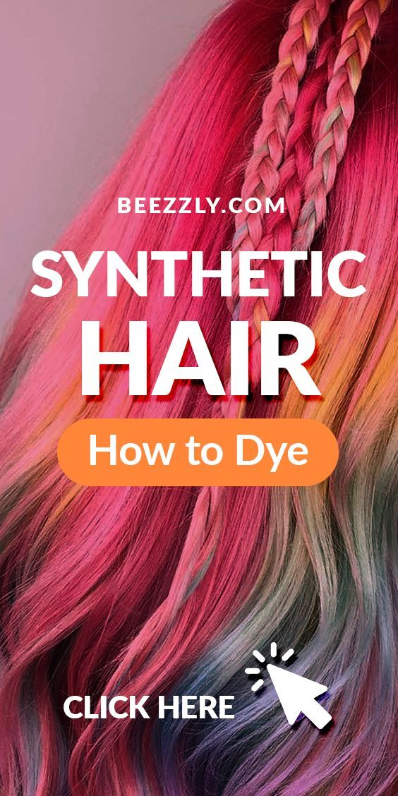 How To Dye Synthetic Hair Practical Guide Synthetic Hair Extensions Synthetic Hair Hair Inspiration Color