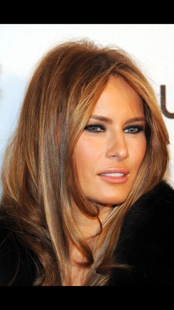 Melania, our future First Lady! What a wonderful breath of fresh air!