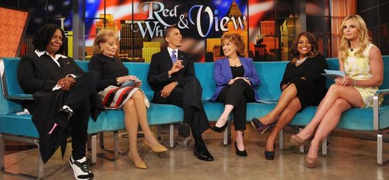 Mr President on the View...