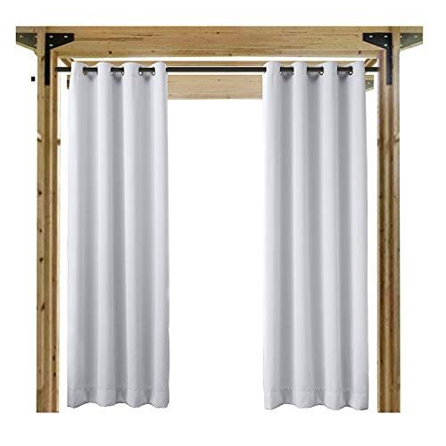 Cheap Cololeaf Outdoor Curtains For Patio Extra Wide Waterproof