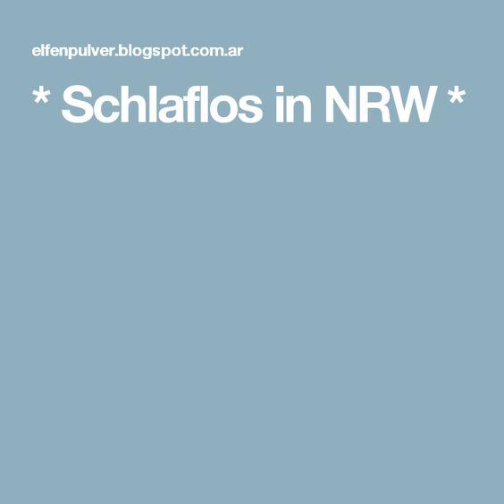 * Schlaflos in NRW *