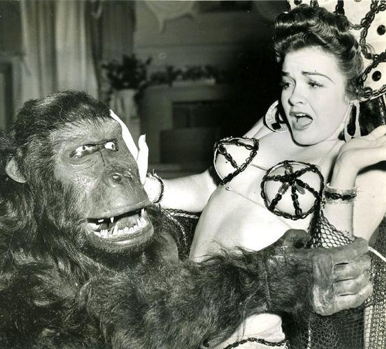 The gorilla and the chorus girl