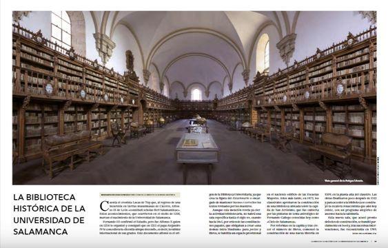 Biblioteca Histórica de la Universidad de Salamanca. Revista Patrimonio.