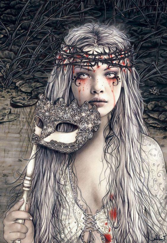 pale, blood, mask, victoria france