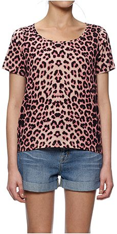 Angelica Bright Leopard Print Tee #Whistles