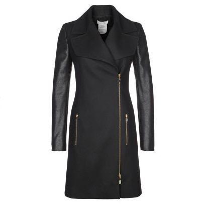manteau femme zalando craquez sur le versace collection manteau classique noir prix promo zalando 74000