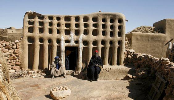 mali-2008, lehmbau-architektur-der-dogons
