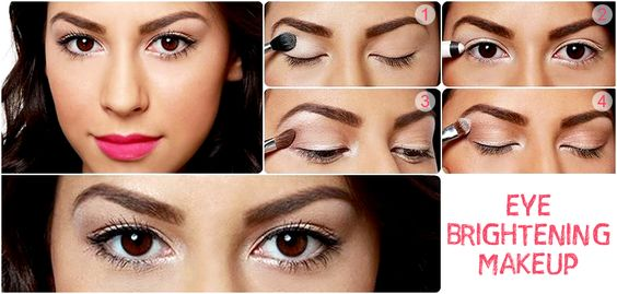 Add some #sparkle to your #eyes with this eye brightening #makeup tutorial. So, are you ready for the #party #tonight? 'Like' if you're going to try this!