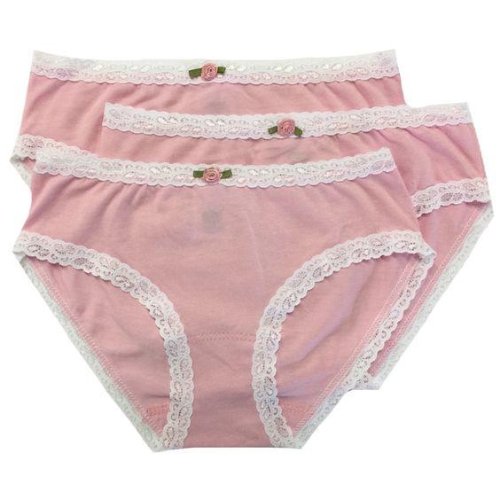Esme Pure Pink Girls Underwear - 3 pack   Cute wear   Pinterest ...
