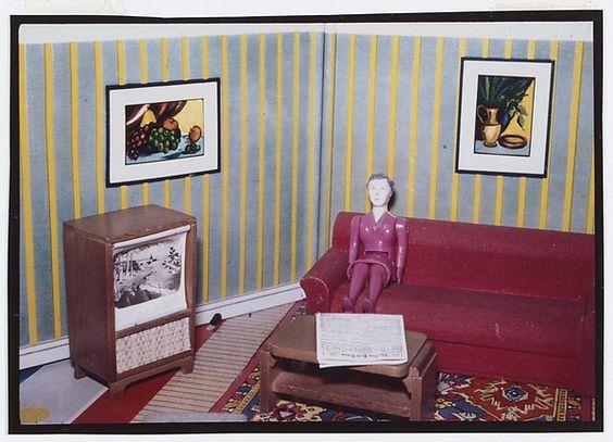 Laurie Simmons | Woman Watching TV | The Met: