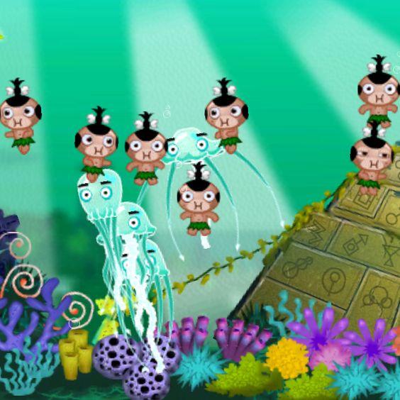 Underwater Tribal Synchronized Swimming...