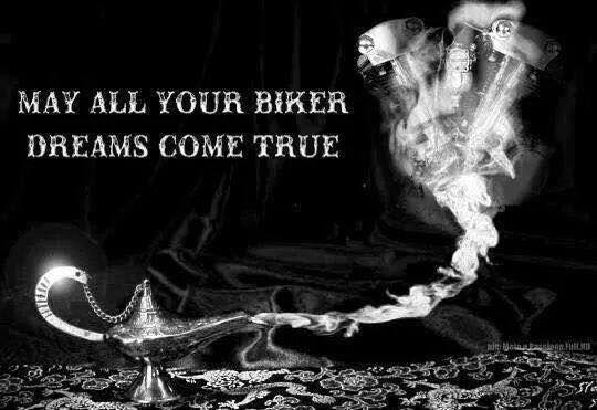 Harley Davidson My Dream Biker Quotes Harley Davidson Quotes