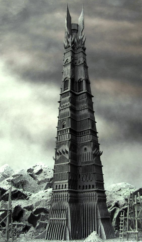 Build Orthanc, the Black Tower of Isengard (Saruman's Castle) in the Oregon Desert