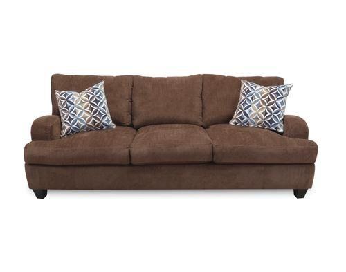 Comfort Eze Mountaineer Chenille Sofa At Menards Comfort Eze