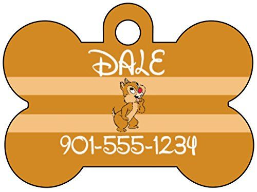 Fresno State Bulldogs Dog Tag Pet Id Tag Personalized w// Name /& Number