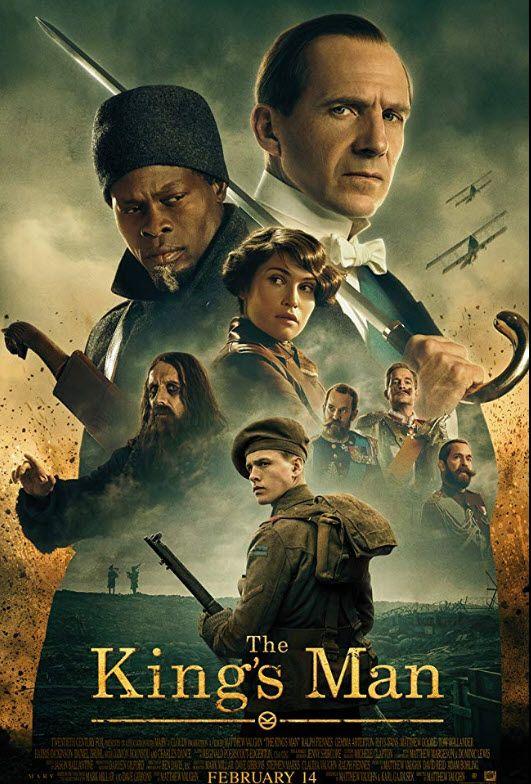 Feb 2020 Release Man Movies Kings Man Ralph Fiennes