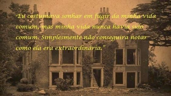 ―O orfanato da Srta. Peregrine para crianças peculiares