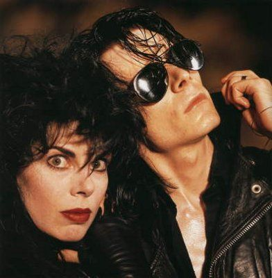 Andrew Eldritch and Patricia Morrison of the Sisters of Mercy.