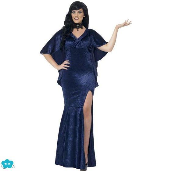 Disfraz de hechicera talla grande para mujer