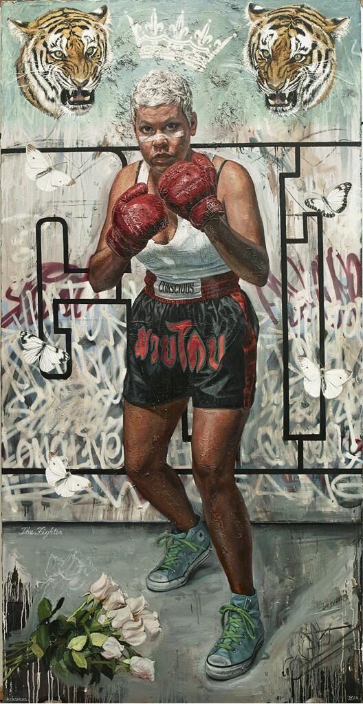 """The Fighter"" - Tim Okamura:"