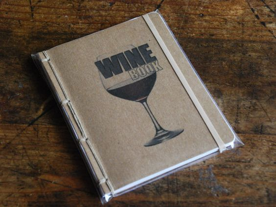 Wine Book A Tasting Journal by lazaflair on Etsy, $8.00