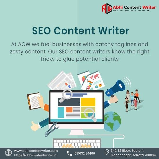 Web Content Writer In Kolkata Fuel Your Business With The Best Website Seo Conte Website Content Writing Seo Website Catchy Taglines