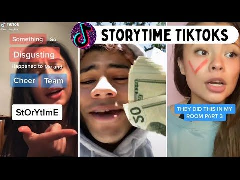 Storytime Tiktoks With All The Parts Tiktok Compilation 2020 Youtube Story Time Life Hacks For School Cheer Team