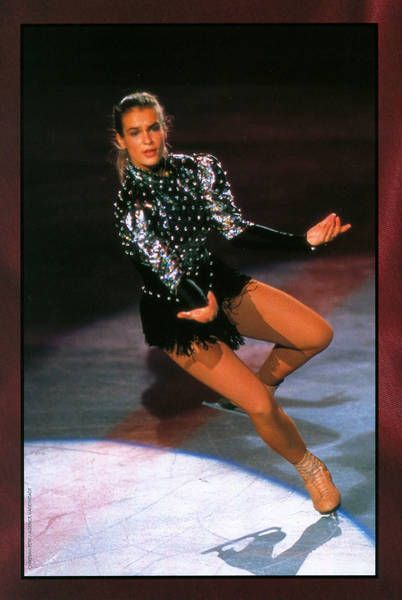 Katarina Witt he liked to watch her skate.