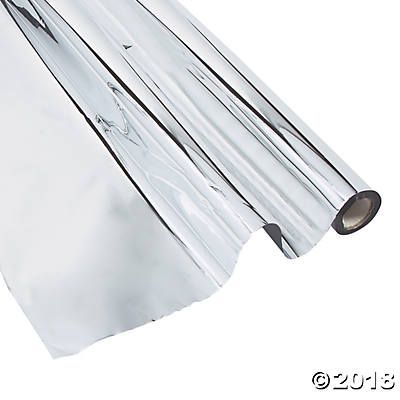 Silver Metallic Plastic Sheeting Plastic Sheets Metal Floor Coverings