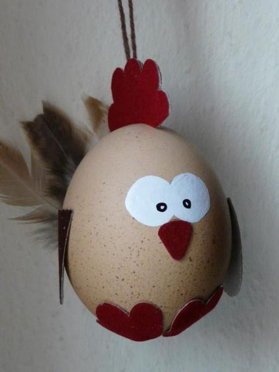 Osterei Huhn