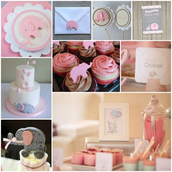Pink Elephant Baby Shower | Inspiration Station ...