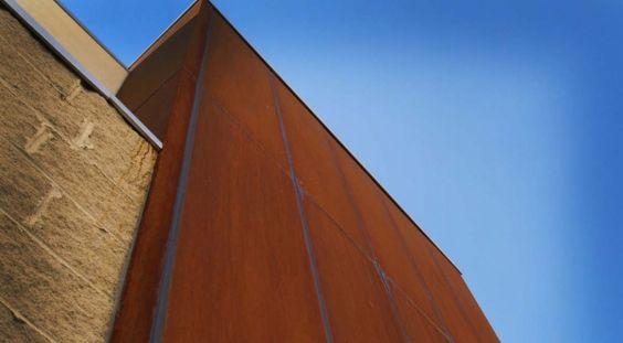 Corten Melbourne - Corten Cladding   Pierre Le Roux Design