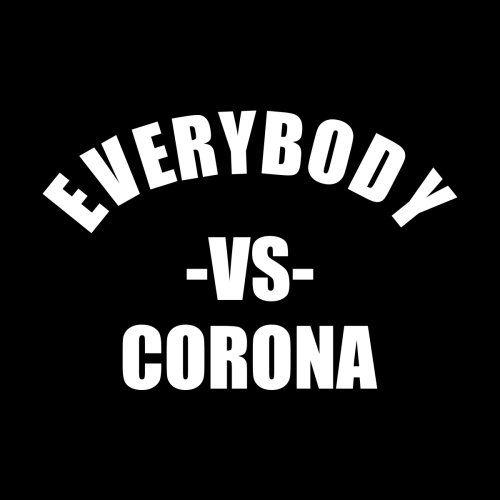 Everybody Vs Corona In 2020 Corona Mens Tshirts Design
