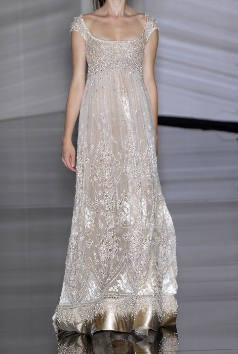 Wedding+Ideas:+silver-beaded-scoopy-neck-gown