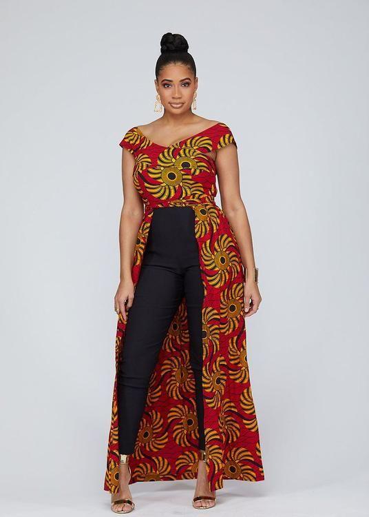 kimono sleeves jumpsuit Wide leg african print jumpsuitAfrican clothing for womenafrican print jumpsuit wide leg jumpsuit