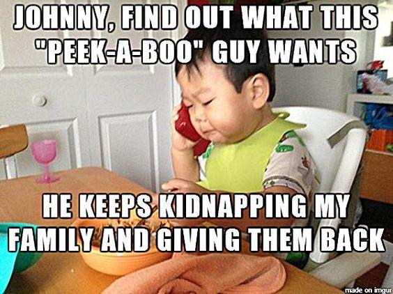 Business Baby Meme - No Bullshit Business Baby (11)   Peek A Boo