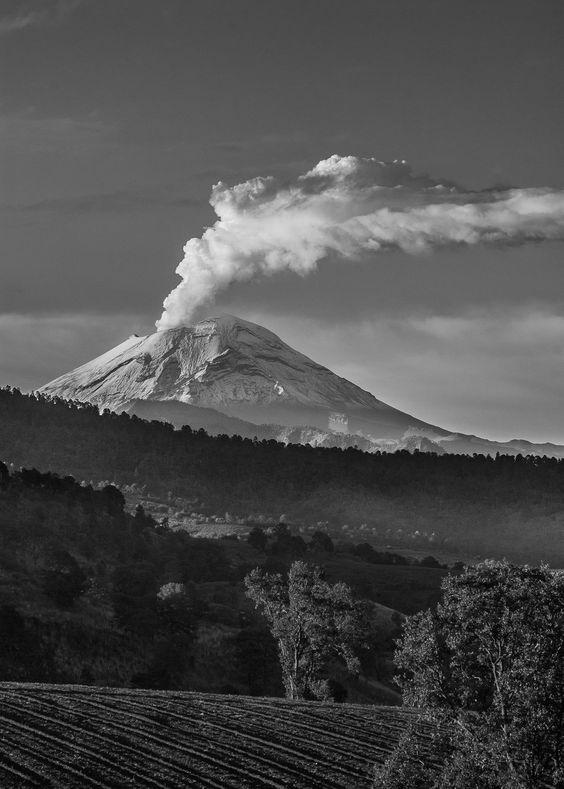 Popocatepetl por Eduardo Mendoza en Fivehundredpx