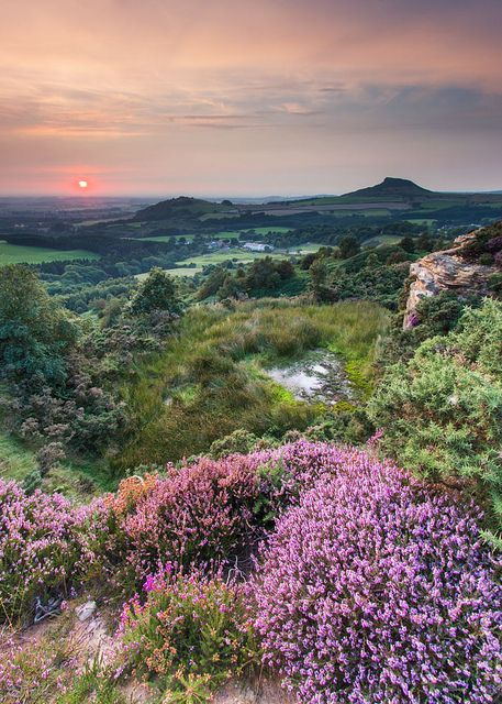 North York Moors - National park in North Yorkshire, England