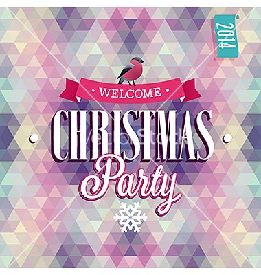 Christmas party vector - by aviany on VectorStock®