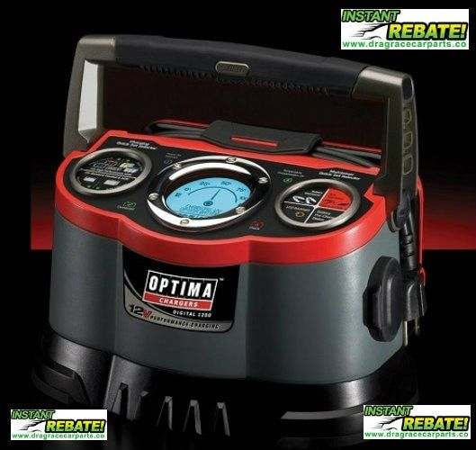 Optima Batteries Digital 1200 12 Volt Battery Charger 150 34178 150 33508 Free Shipping At Https Www Dragracecarparts Co Optima Battery Charger Optima Battery