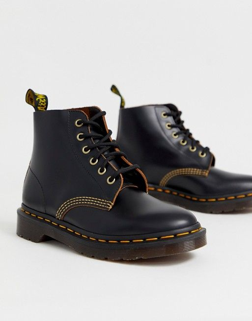 so cheap hot sale pre order Dr Martens Ambrose archive leather boots in black in 2019 ...