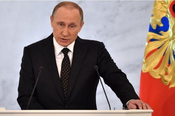 Putin: Turkey 'will regret' downing Russian bomber in Syria 3 December 2015