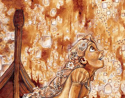 """Check out new work on my @Behance portfolio: """"Disney coffee sketches"""" http://on.be.net/1M7WNJz"""