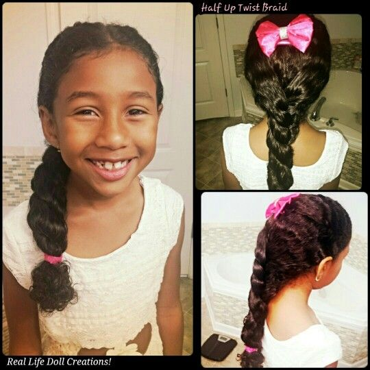 Magnificent Little Girl Hairstyles Easy Hair And Girl Hairstyles On Pinterest Hairstyle Inspiration Daily Dogsangcom