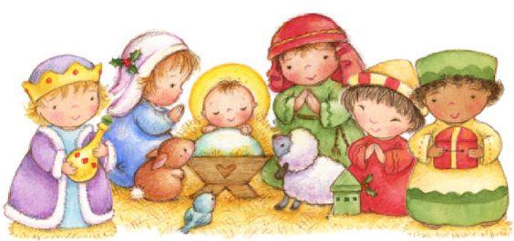 Merry christmas navidad and christmas on pinterest - Dibujos de nacimientos de navidad ...