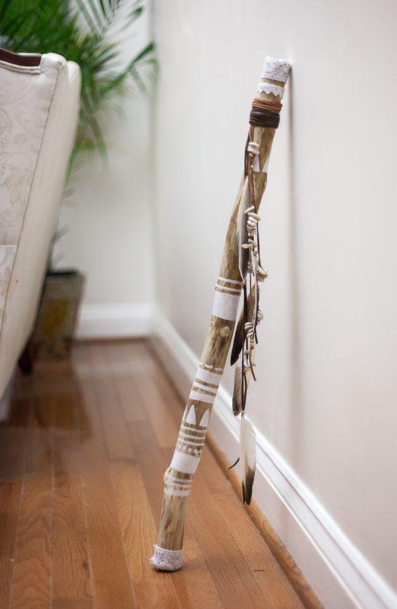Diy Walking Stick Craft Easy