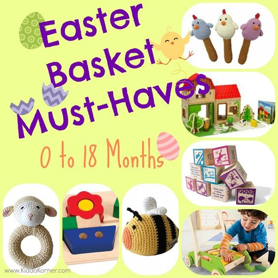 Click here for a great list of easter basket must haves for your 0 click here for a great list of easter basket must haves for your 0 18 month old httpkiddokornerblogmy first easter easter basket must hav negle Image collections