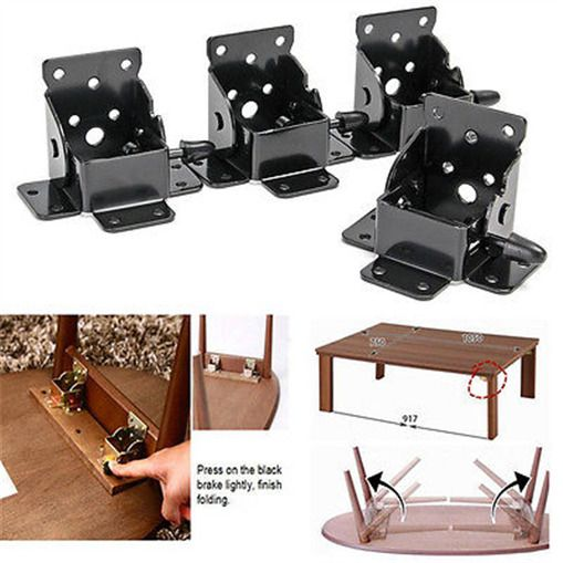 Iron Locking Folding Bracket Folding Table Leg Hinges Ebay Folding Table Legs Table Legs Folding Table