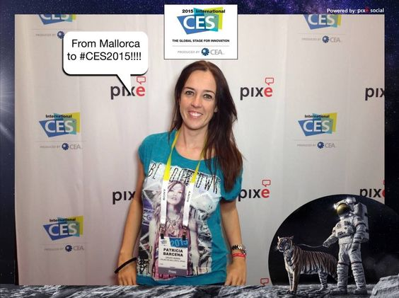 From Mallorca to #CES2015!!!! #CES2015 #PixeSocial