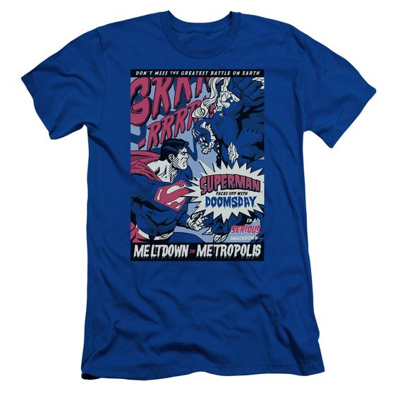 Superman: Meltdown Slim Fit T-Shirt